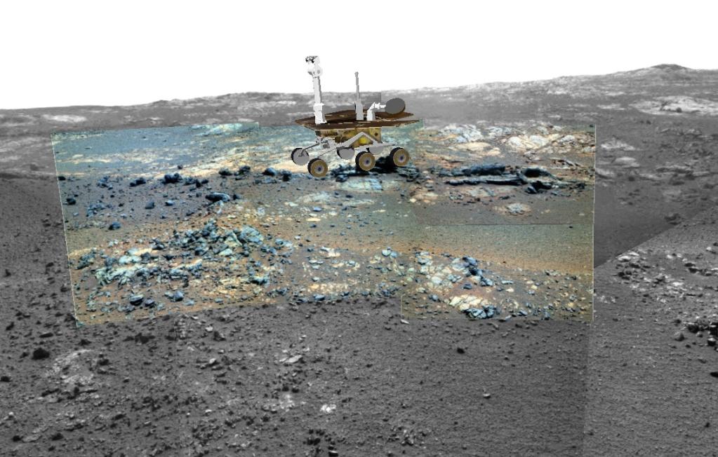 Opportunity et l'exploration du cratère Endeavour - Page 5 Image240