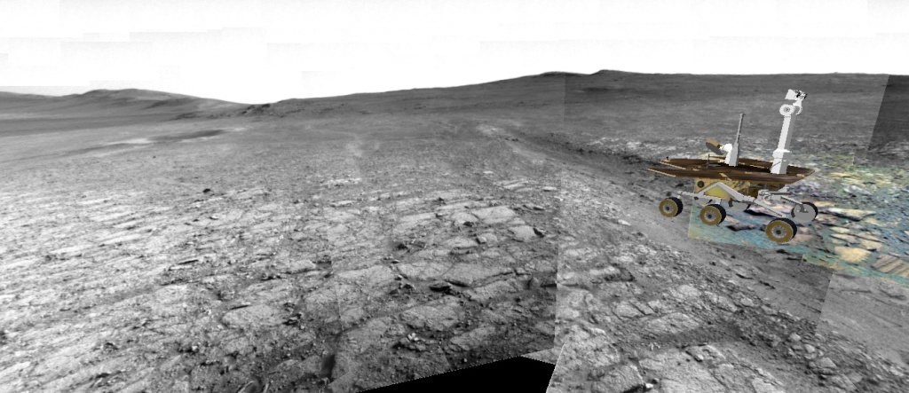 Opportunity et l'exploration du cratère Endeavour - Page 4 Image510