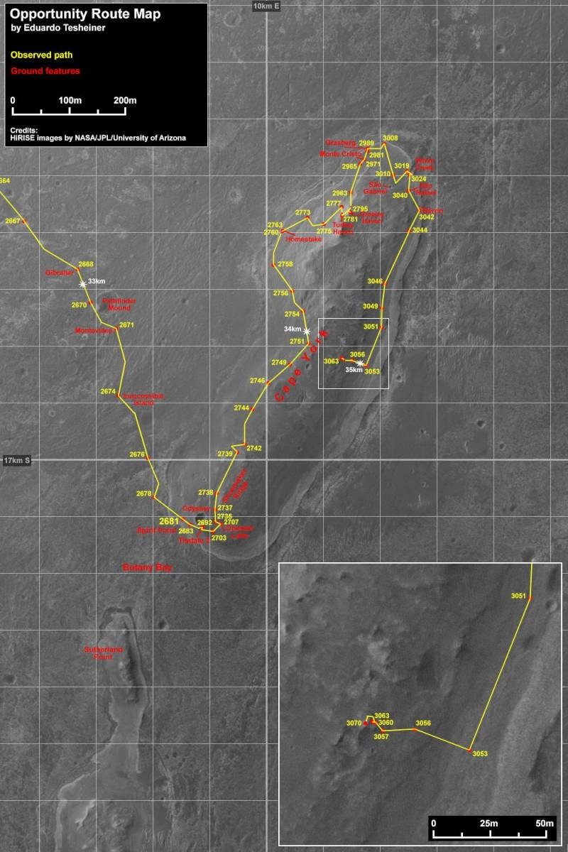 Opportunity et l'exploration du cratère Endeavour - Page 5 Index11