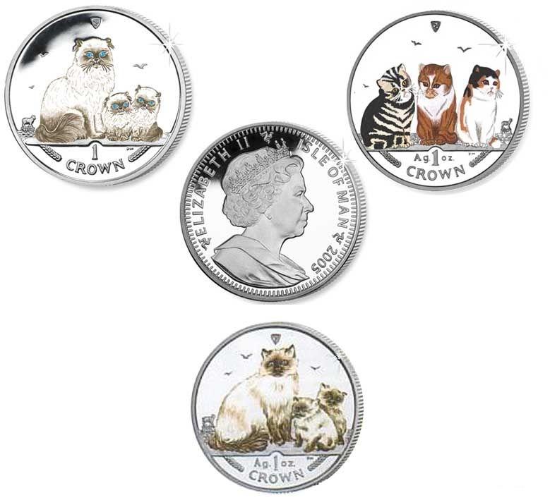 Серия монет, посвященная котам Catsbi10