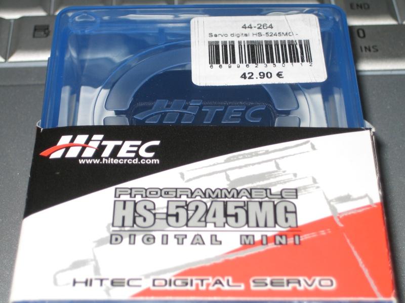 Palonier de Servo pour Hitec 5425MG Mini8 Img_5413