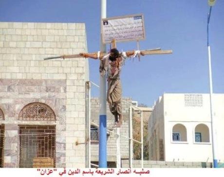Les islamistes crucifient encore les Chrétiens de nos jours - Voyez la photo ! 31932910