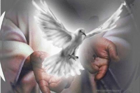 """""""J'ai envoyé sur vous aujourd'hui mon Esprit Saint. - Soyez mes Témoins,"""" - Jésus ! Espiri10"""