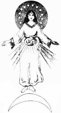 Ma mère se révèle comme la femme revêtue du soleil,comme la Mère de Miséricorde et de Compassion. Etudes10