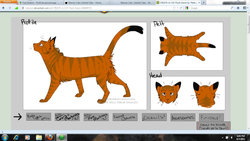 Your Cat (You.. xD) Hawkta10