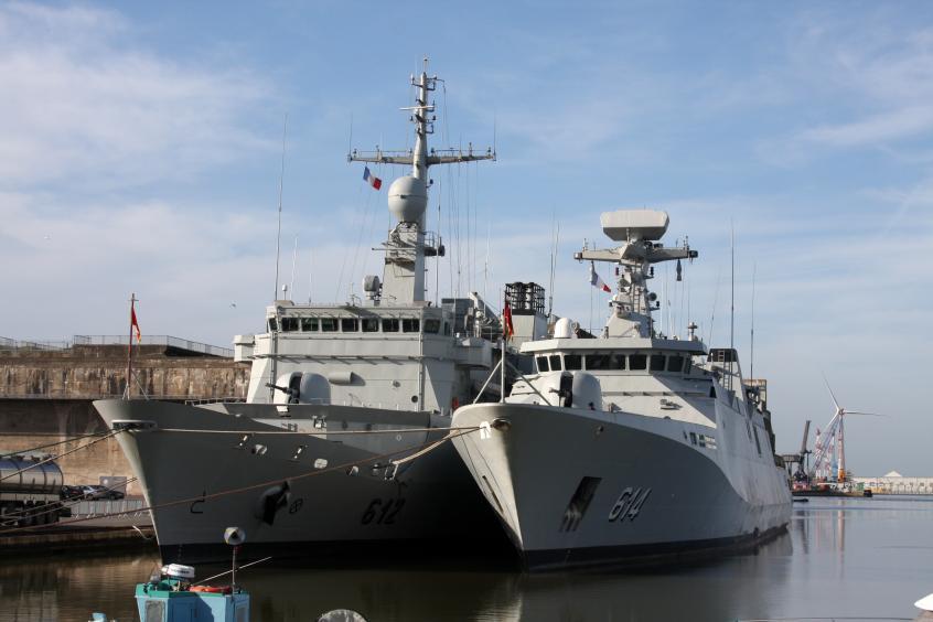 Royal Moroccan Navy Floréal Frigates / Frégates Floréal Marocaines - Page 13 20180412