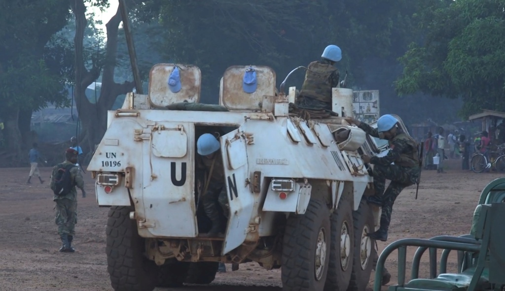 Maintien de la paix dans le monde - Les FAR en République Centrafricaine - RCA (MINUSCA) - Page 17 20190511