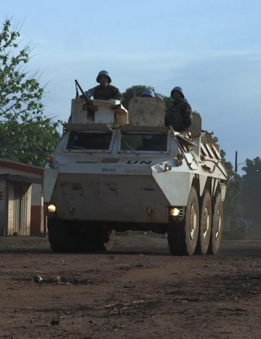 Maintien de la paix dans le monde - Les FAR en République Centrafricaine - RCA (MINUSCA) - Page 17 20190512
