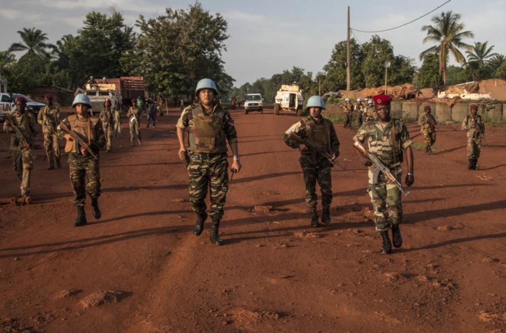 Maintien de la paix dans le monde - Les FAR en République Centrafricaine - RCA (MINUSCA) - Page 17 20190524