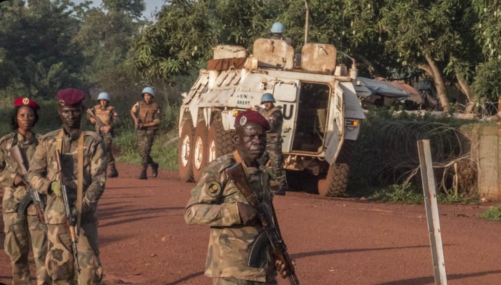 Maintien de la paix dans le monde - Les FAR en République Centrafricaine - RCA (MINUSCA) - Page 17 20190529