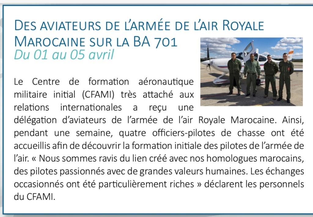 Coopération militaire Maroco - Française  - Page 4 20200125