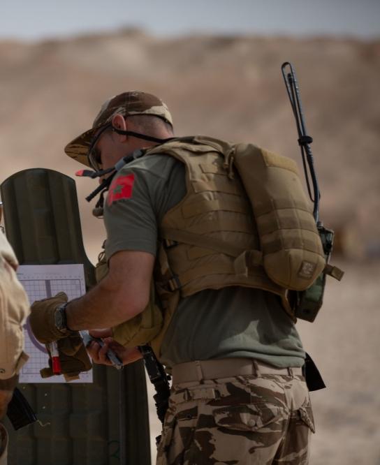 Photos de nos soldats et des Bases Marocaines - Page 7 20200226