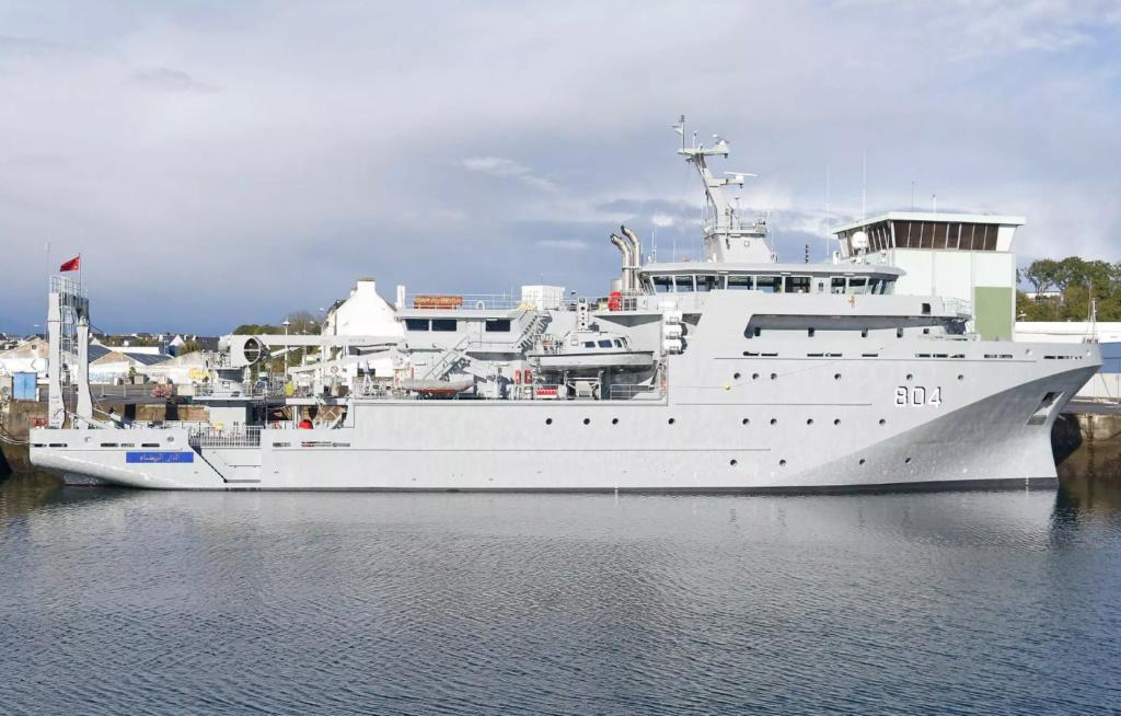 Bâtiment Hydrographique et Océanographique Multi-Missions (BHO2M) DAR EL BEIDA (804) Bh110
