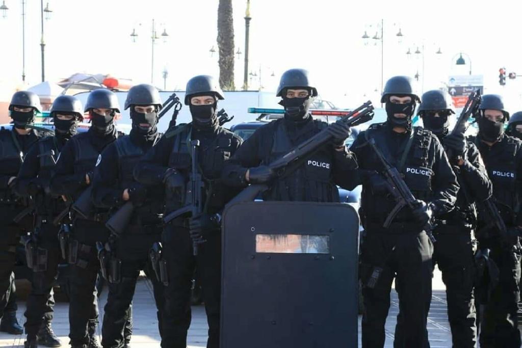 Moroccan Special Forces/Forces spéciales marocaines  :Videos et Photos : BCIJ, Gendarmerie Royale ,  - Page 16 Fb_img89