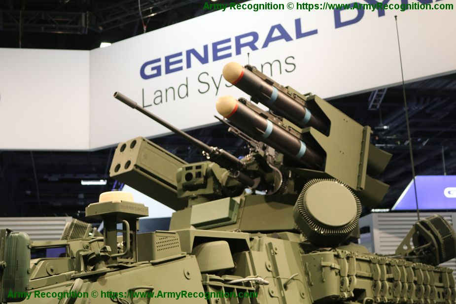 Stryker A1 IM-SHORAD Genera11