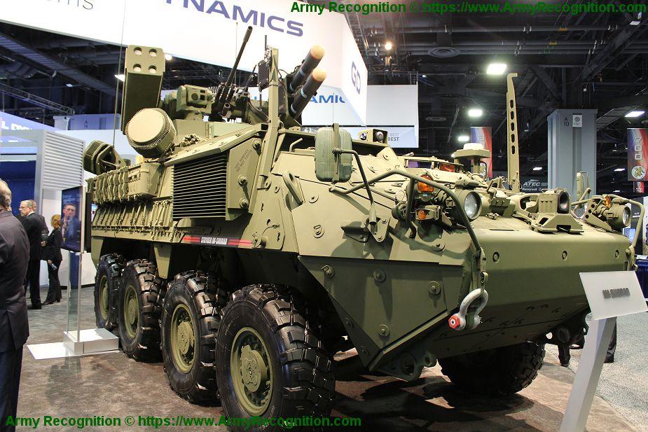 Stryker A1 IM-SHORAD Genera12