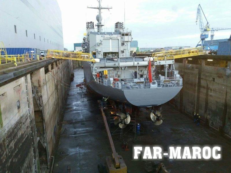 Royal Moroccan Navy Floréal Frigates / Frégates Floréal Marocaines - Page 12 Photo_54