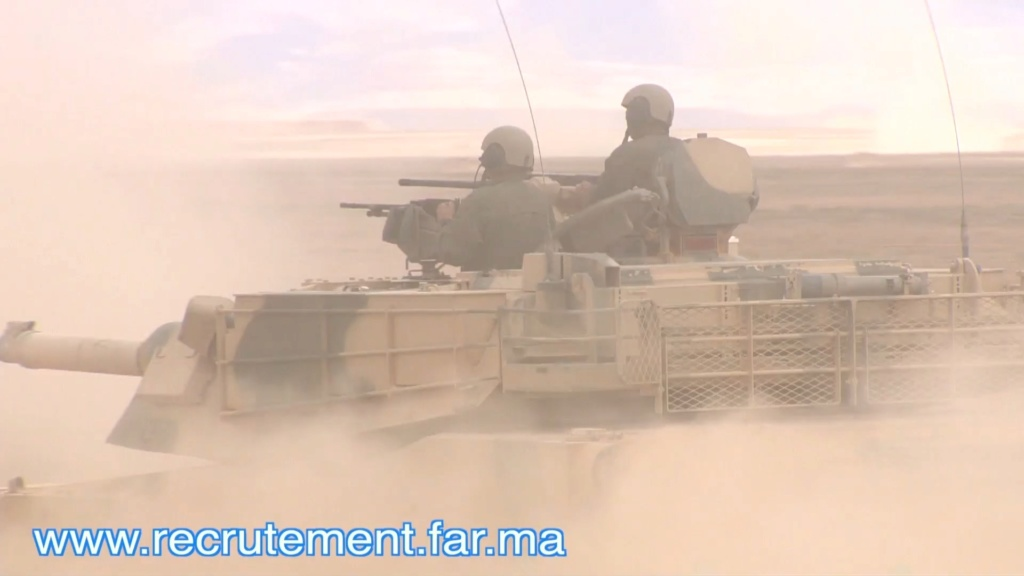 M1A1 SA ABRAMS Marocains / Moroccan M1A1 SA ABRAMS Scree134