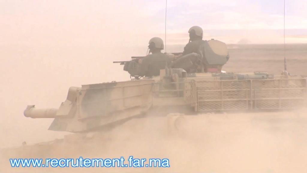 M1A1 SA ABRAMS Marocains / Moroccan M1A1 SA ABRAMS Scree135