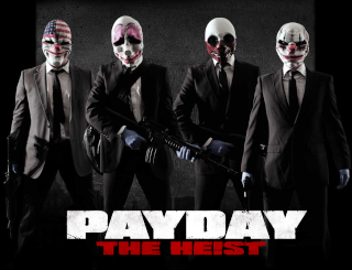Payday the heist group cosplay 2013 Payday10