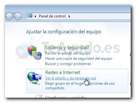 Modificar los servidores DNS de una conexión Cambia10