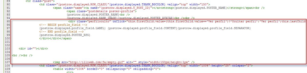 Mostrar/Ocultar perfil de usuarios en los posts  Temp210