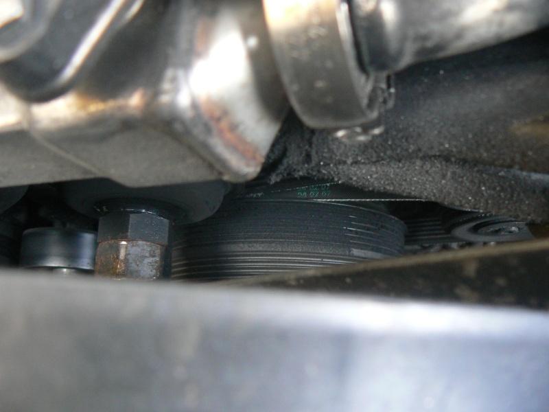 [BMW 320 d E46] Problème de poulie damper P1040310
