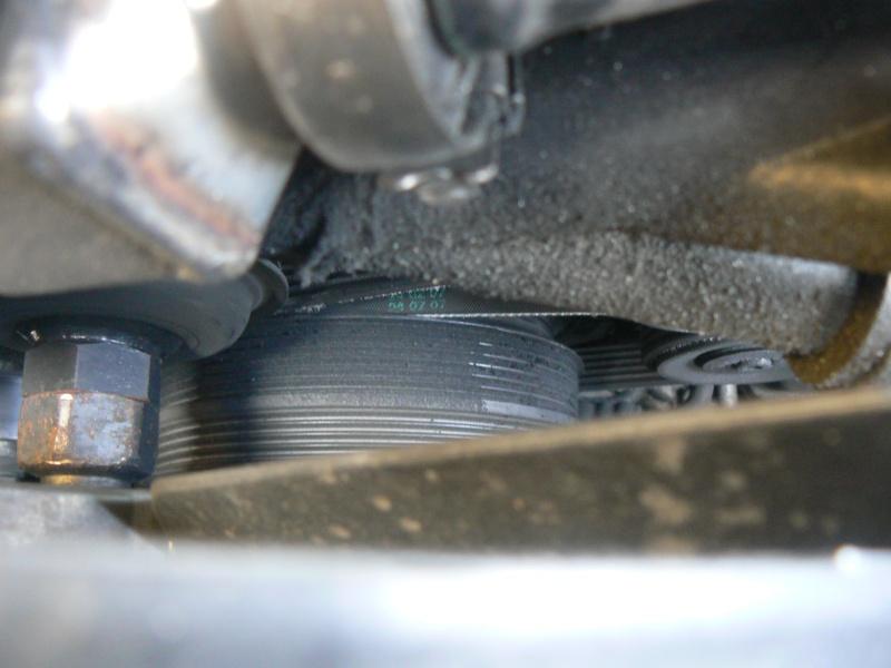 [BMW 320 d E46] Problème de poulie damper P1040311