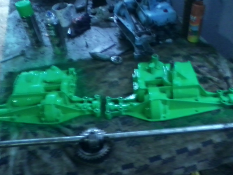 my lime green raceing lawn mowers  Green_14