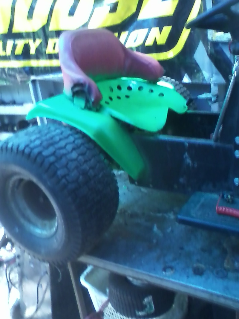 my lime green raceing lawn mowers  Green_19