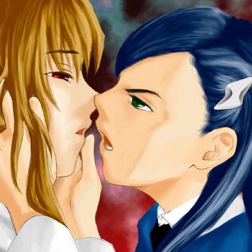 Mai-HiME/Otome shipping poll - Page 5 Kiss10