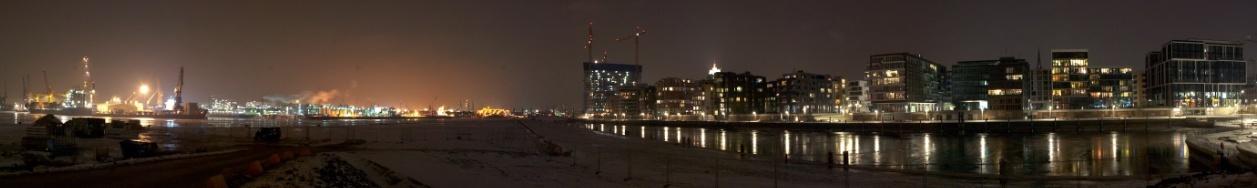 Hamburg - Im Fluss der Dunkelheit