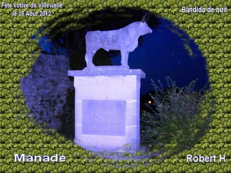 bandido de nuit  fete votive de villevielle  le 16 aout 2012 manade robert h Villev11