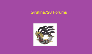 The Giratina720 Forums