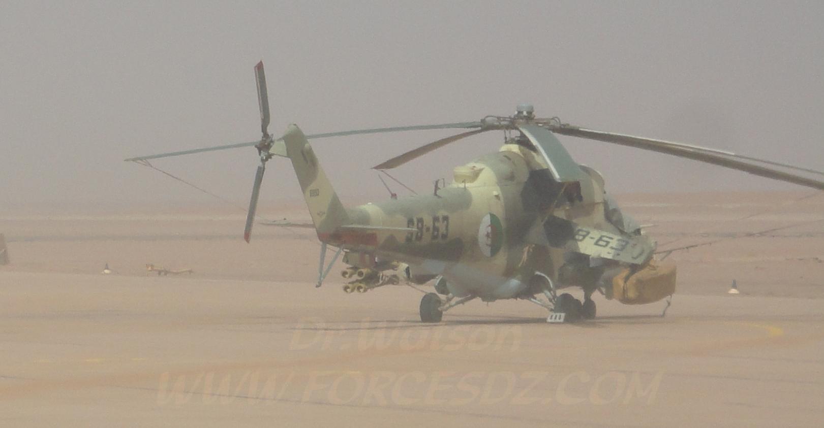صور مروحيات Mi-24MKIII SuperHind الجزائرية Mi24mk10