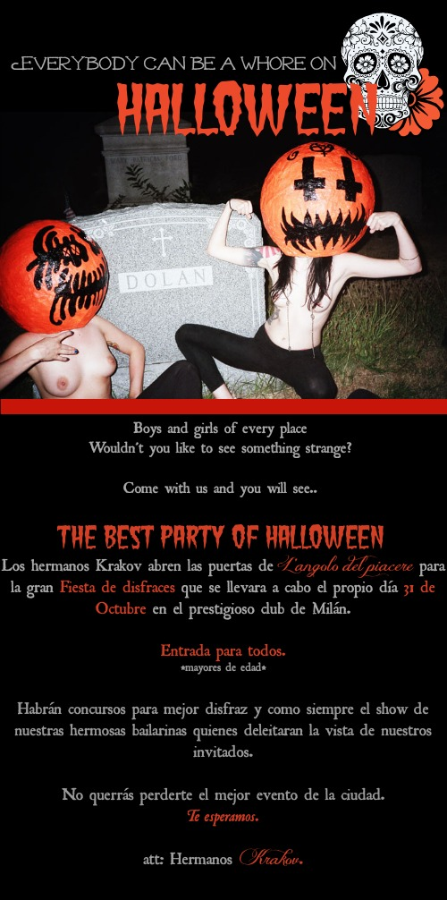 Boys and girls of every place, Wouldn't you like to see something strange? #Halloween Party  1hallo10
