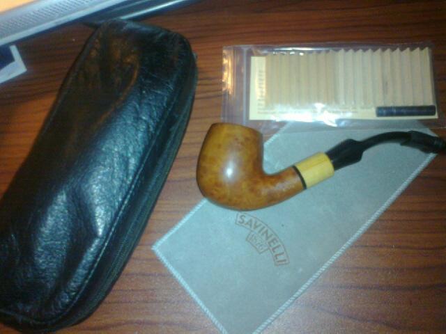 A co-worker gave me a Savinelli Madera 601 10152010