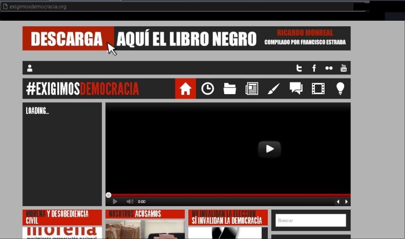El Libro Negro de Ricardo Monreal para descargar Exigim10