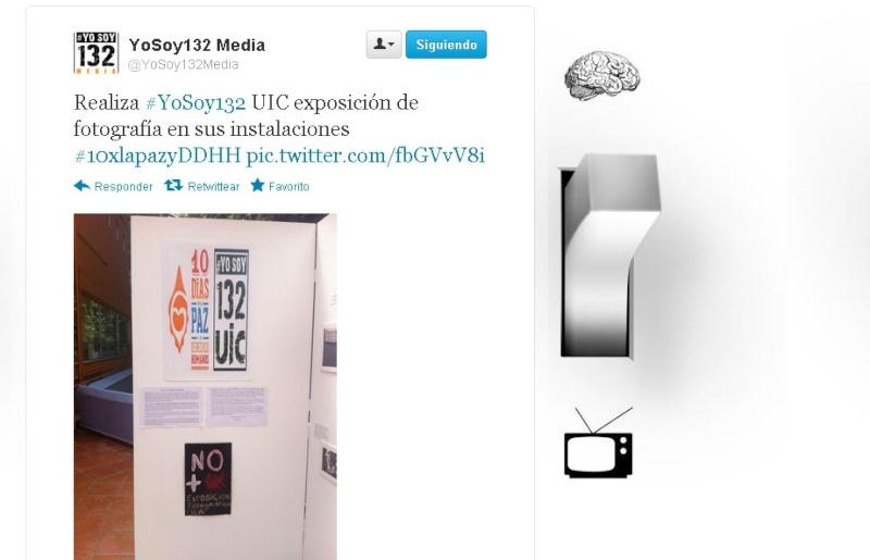Realiza #YoSoy132 UIC exposición de fotografía en sus instalaciones Fot13210