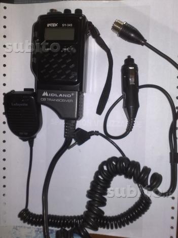 Radio CB portatile Intek_10