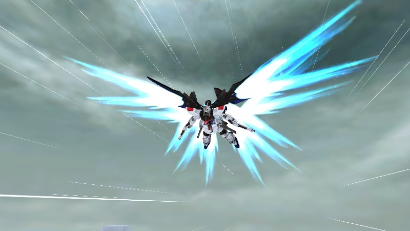 Strike Freedom Gundam Musou Shot1912