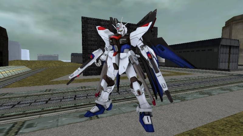 Strike Freedom Gundam Musou Shot1913