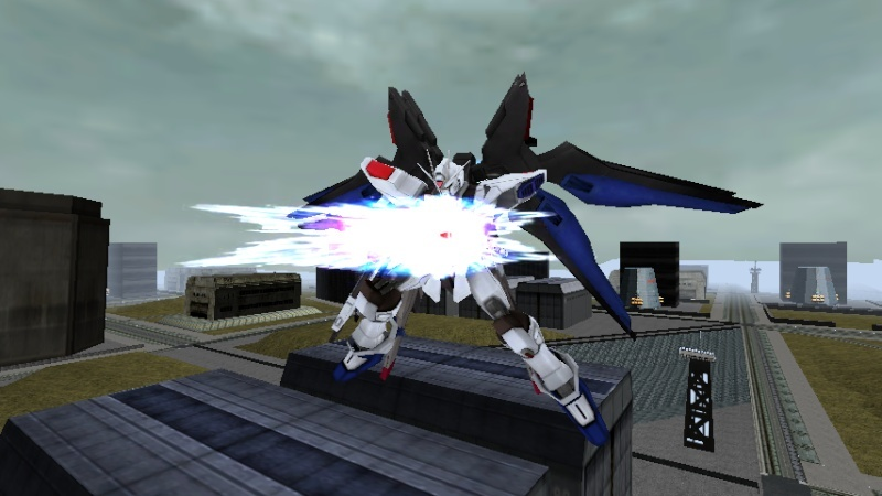 Strike Freedom Gundam Musou Shot2010