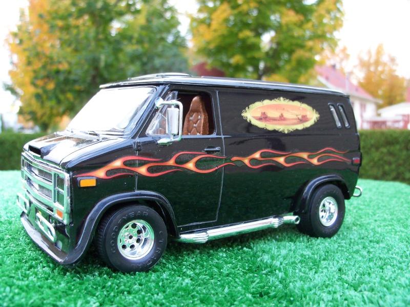 Chevy Van Costom Cruz 1970 100_3821