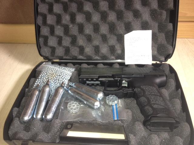 Vend Heckler et Koch pistolet à plombs et billes acier Photo311