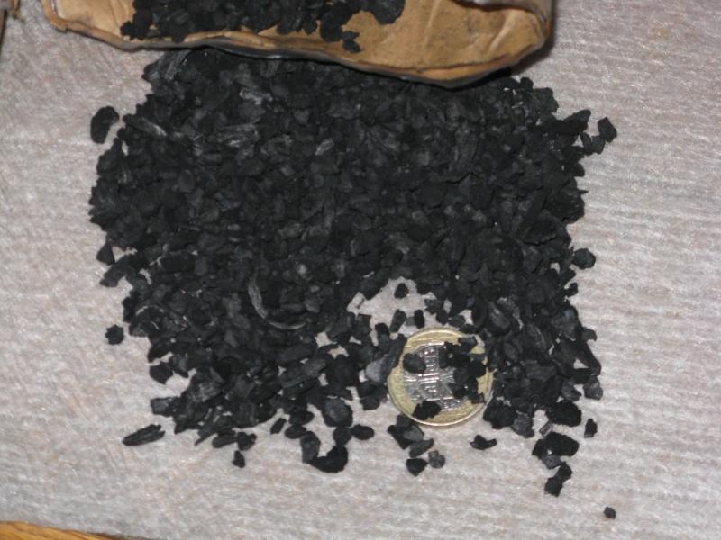Filtre à charbon actif home-made Filtre16