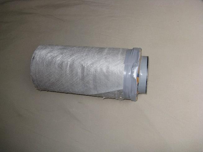 Filtre à charbon actif home-made Filtre17