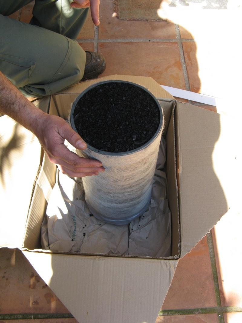 Filtre à charbon actif home-made Filtre18