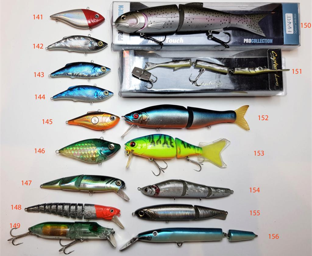 [VENDO][NUOVI-USATI] Frittomisto di 188 artifizi -  topwater, jerk, etc... dal bass al tonno 9-recu10