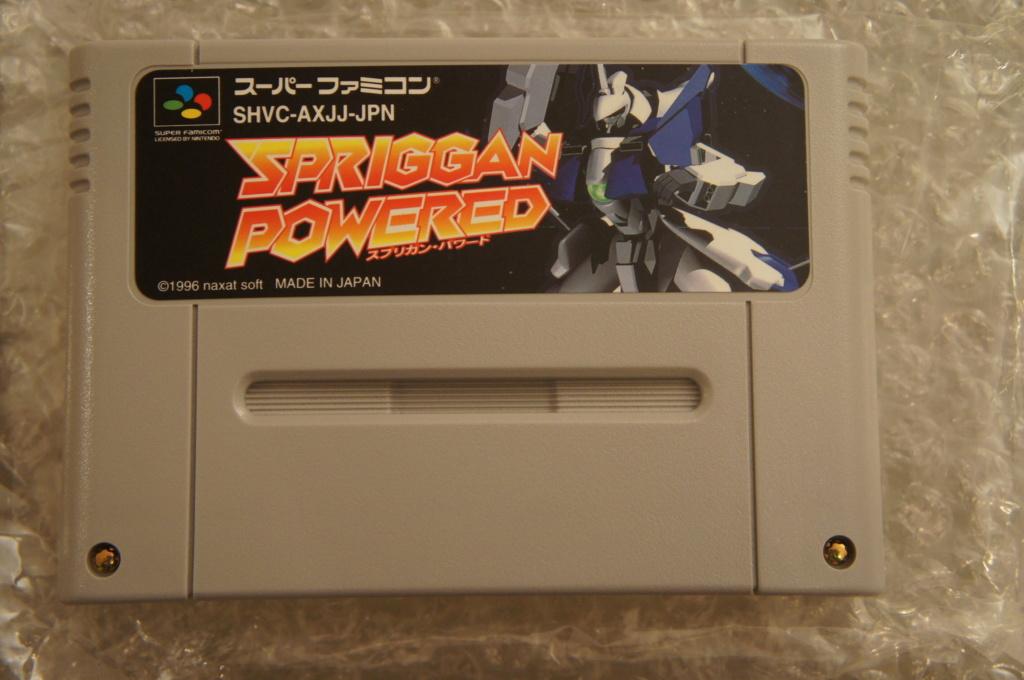 Vends Spriggan Powered SFC Super Famicom  Dsc05655